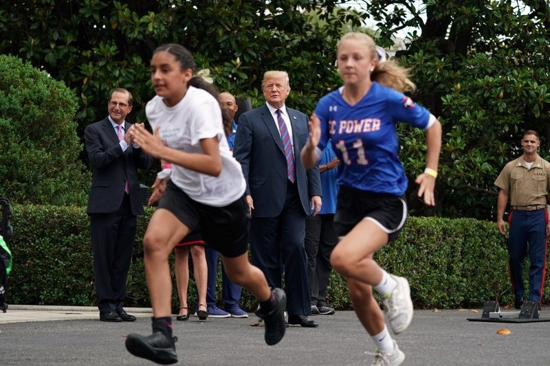 Trump tells young athletes to play to win, have a good life - HS Sports