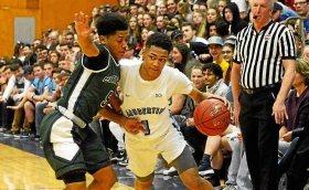High School Sport - High School Boys Basketball: Saugerties phenom, Freeman Player of Year, Dior Johnson leaving for Florida