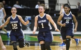 Calvary Christian faces Aucilla Christian in Class 2A state semifinal high school girls basketball game