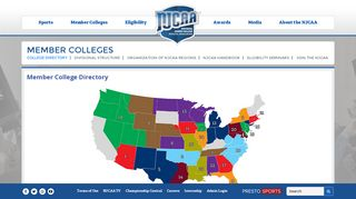NJCAA College Finder