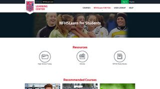 NFHS Learning Resources