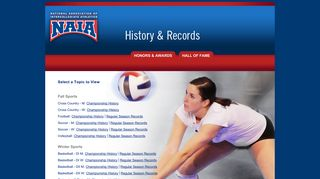 NAIA Records
