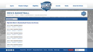 NJCAA Mens Basketball