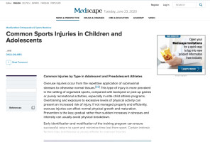 Common Teen Sports Injuries
