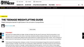 Weightlifting Tips for Teenagers