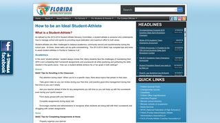 FSHAA - Student Athlete Guide