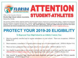 FSHAA Eligibility Poster · PDF