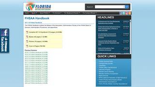FSHAA Handbook