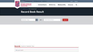 High School Records 1