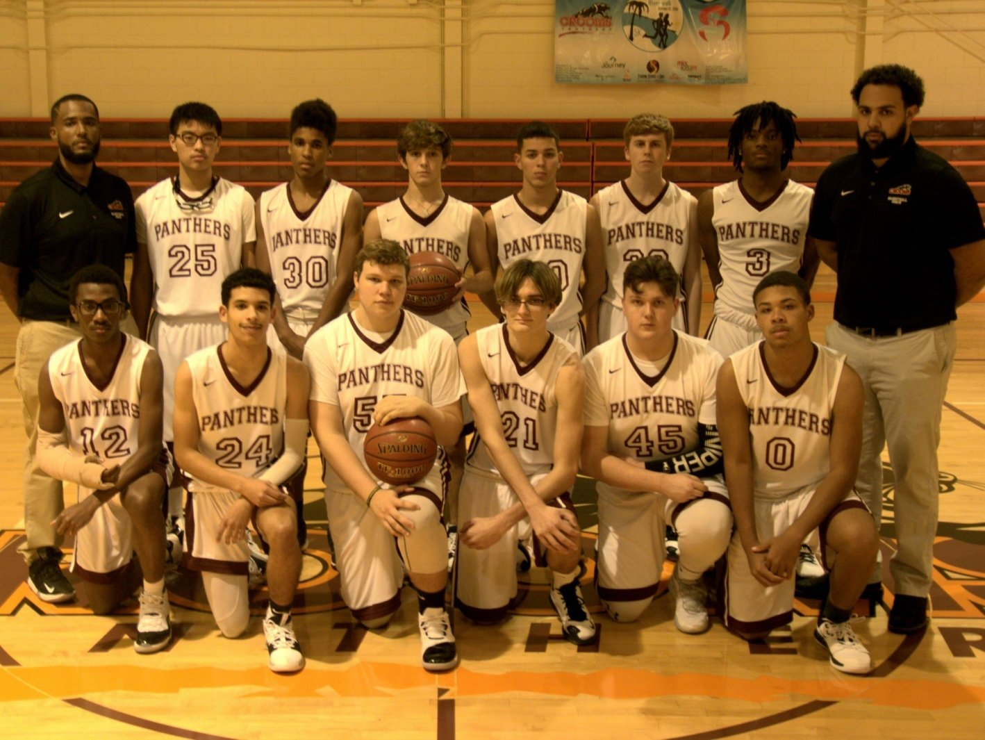 Crooms Academy Panthers - Team Photo