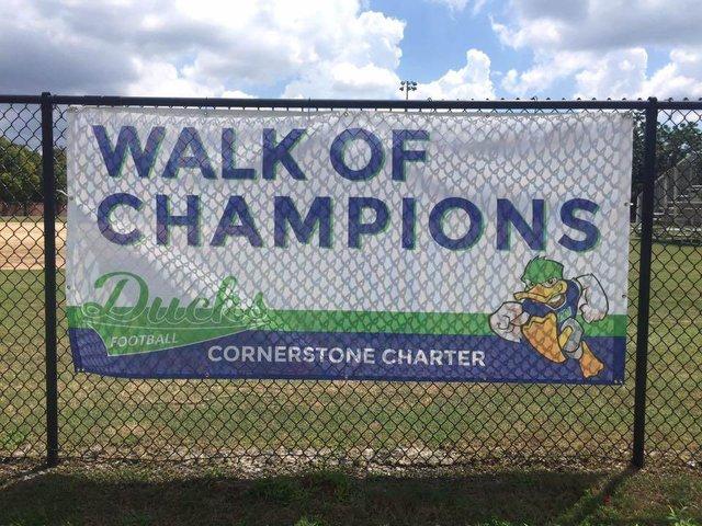 Cornerstone Charter Ducks - Team Photo