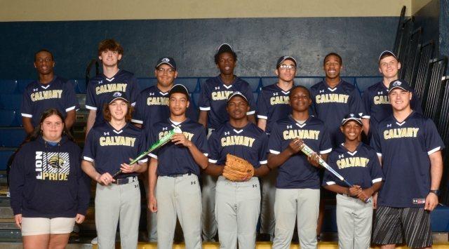 Calvary Christian Academy Lions - Team Photo