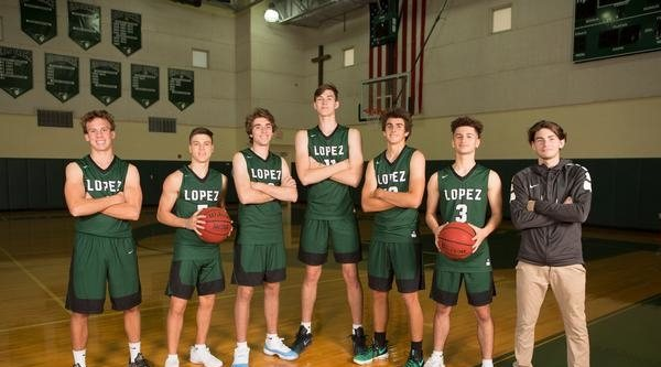 Father Lopez Green Wave - Team Photo