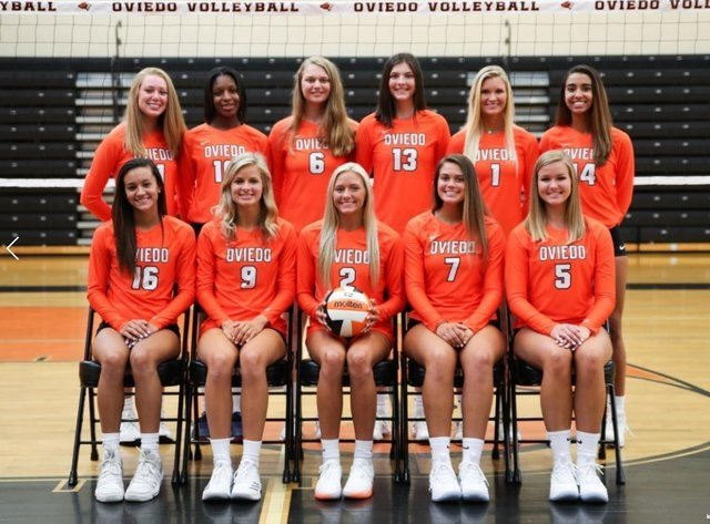 Oviedo Volleyball - Team Photo