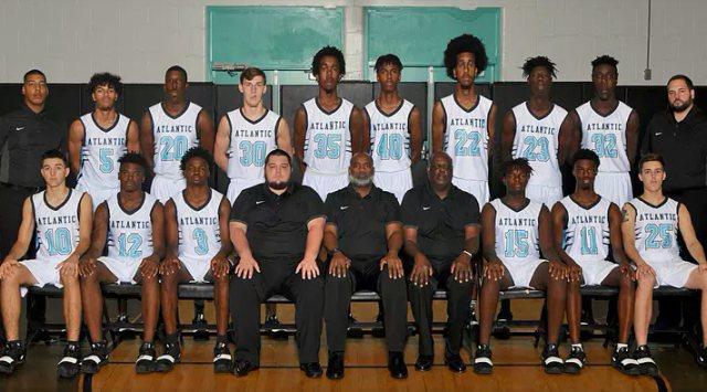 Atlantic Basketball - Team Photo