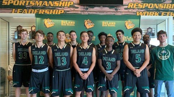 DeLand Basketball - Team Photo