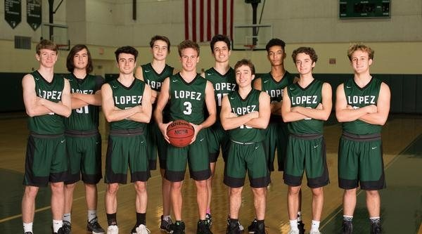 Father Lopez Basketball - Team Photo