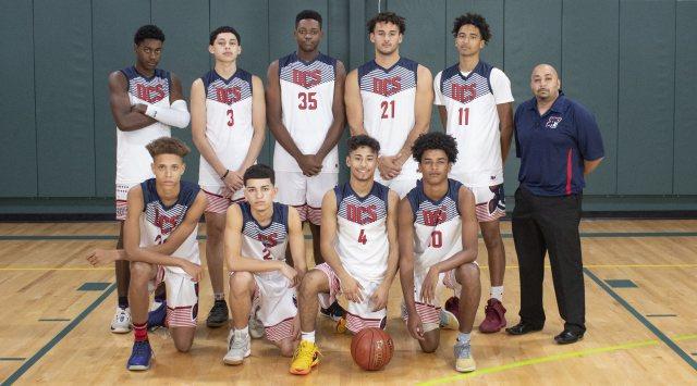 Downey Christian Basketball - Team Photo