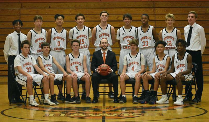 Spruce Creek JV Basketball - Team Photo