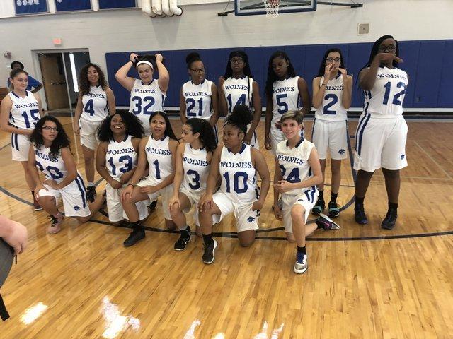 Deltona Girls Basketball - Team Photo