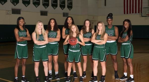 Father Lopez Girls Basketball  - Team Photo